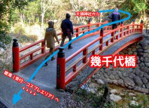 妹背の滝 幾千代橋